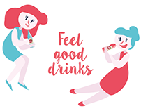 Feel good drinks