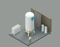 Santa Teresita Hospital - Cryogenic System Supply