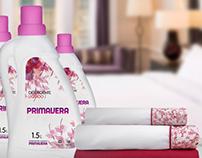 Primavera - Etiquetas Detergente