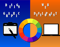 Design graphic vs Web dvelopment