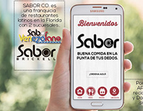 Sabor Co. - App design