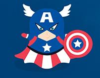 Super Heróis Invadem o Snapchat