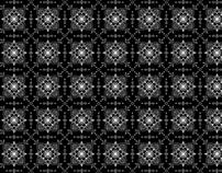 Mosaico - mándala b/w