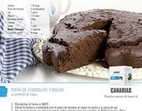 Gráficas para recetas de Té Canarias