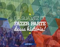 É a sua vez - AIESEC in Brazil