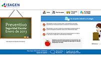 WEB DESIGN: ISAGEN