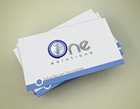 Cartão de Visitas One Solutions