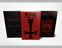 """Capas para livro """"Drácula"""" de Bram Stoker"""