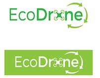 Logo vectorial. Ecodrones
