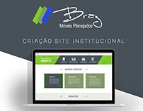 Criação site - Braz Móveis Planejados