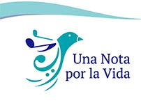 Branding - Logotipo / Una Nota por la Vida