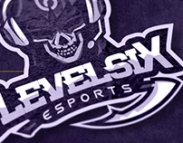 Level Six E-Sports - Logo Mascot