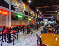 Bahrem Burger & Grill - Materiais para o restaurante