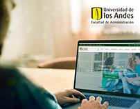 U. de los Andes - Website - (Facultad Administración)