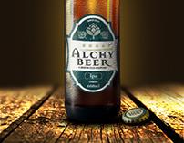 Identidade Visual - Cerveja Alchy Beer