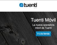 2011. Lanzamiento Online Shop Tuenti Móvil, para Tuenti