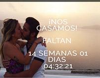 Invitación de Casamiento - Página web