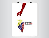 Flyer - illustration / Venezuela 2016