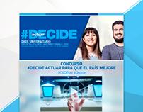 Landing Page CADE Universitario