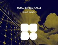 Foton Energia Solar brand identity