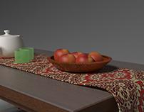 Mesa + Fruteira