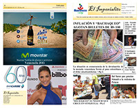 "Periódico ""El Imperialito"" Newspaper ""The imperial"""