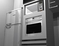 Projeto 3D Promob - Cozinha