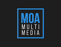 Logotype Options for Moa Multimedia