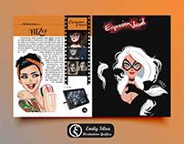 Diseño de revista Expresión Visual