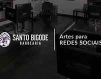 Santo Bigode - Barbearia