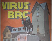 Poster Film Zombie Bariloche
