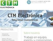 Website CTM Electronica