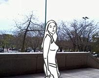 Paloma. Animación 2D y Rotoscopía.