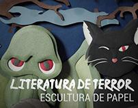 Paper Sculpture | Literatura de terror