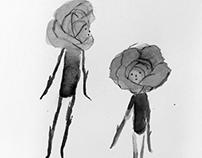 """""""C'était une fleur tellement orgueilleuse""""."""