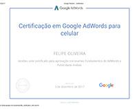 Certificado - Publicidade Mobile