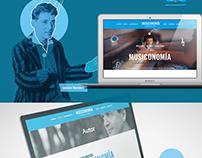 Musiconomía - Web Design