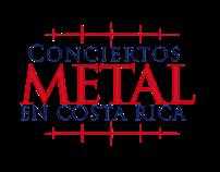 Logo para Conciertos Metal En Costa Rica