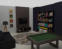 projeto 3D/ sala de jovens