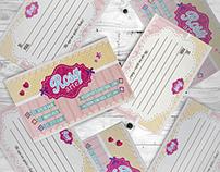 Cartões Rosy Arte
