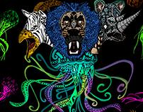 Animales Hibridos, Medusa Composición