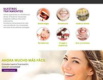 Diseño Web, Tomás Meza Clínica Dental