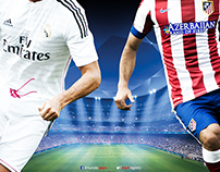 Real Madrid vs Atletico de Madrid - UCL Quarter Final