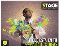 Manejo de Social Media STAGE Agencia.