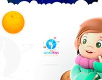360Kosmokids - Branding - UI/UX
