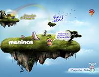 WEBSITE - MENISNOS Zapateria infantil - animacion