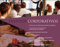 Flyer y Mailing para Eventos POLO HOTEL