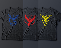 POKEMON GO TEAM T-Shirts