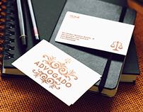 Cartão de Visita - Advogado