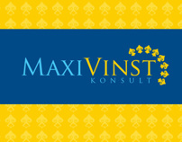 Visual Identity and Webdesign for Maxi Vinst Konsult
